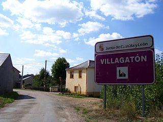 Villagatón Place in Castile and León, Spain