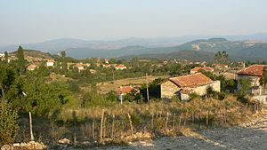 Ustren - A view of the village