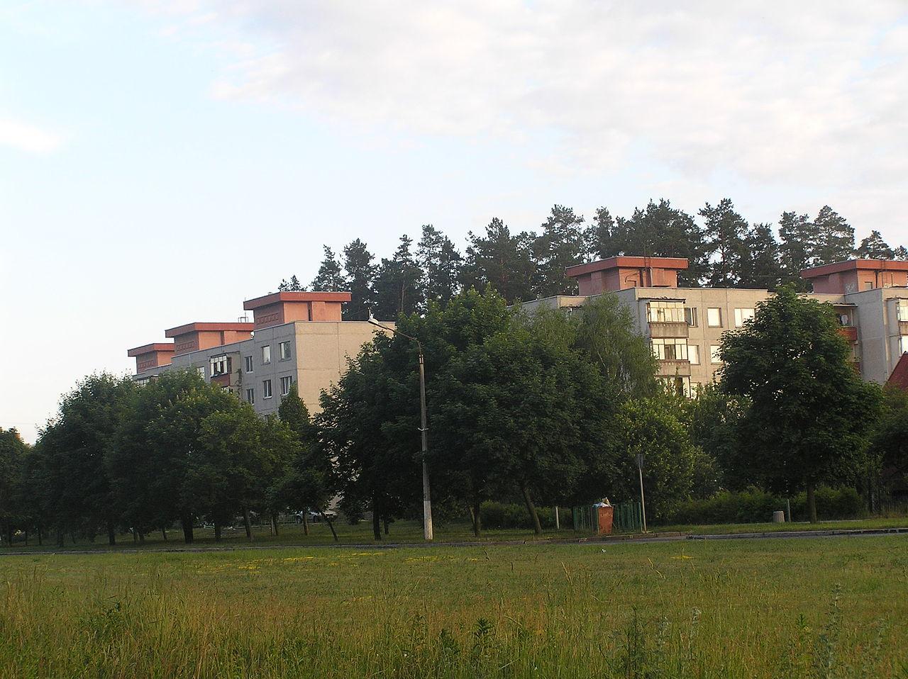 Вид на Вильнюсский квартал