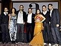 Vir Das,Poorna Jagannathan,Abhinay Deo,Aamir Khan,Shenaz Treasuryvala,Imran Khan,Kunal Roy Kapoor From The 'Delhi Belly' success bash.jpg