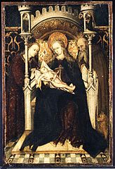 Virgin and Child Enthroned with Saints Catherine and Jerome