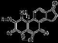 Viridin Molecular Structure.png