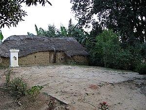 Visakha - Stupa of Visakha, where her ashes were interred, in Sravasti.