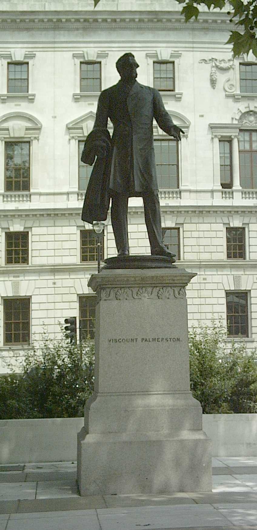 Viscount Palmerston statue