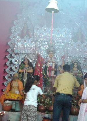 Bhagalpur - Vish-Hari Puja in Bhagalpur.