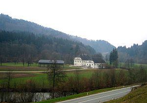 Ivan Tavčar - Tavčar's estate in Visoko near Škofja Loka