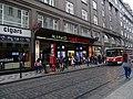 Vodičkova, zastávka Václavské náměstí, pasáž kina Světozor.jpg