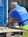 Volontario al lavoro - Reno Centese - Province of Ferrara - 2012 Northern Italy earthquake.jpg