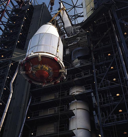 Voyager 2 in Launch Vehicle PIA21727