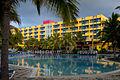 Vue côté piscine du Barcelo Solymar (5975753283).jpg