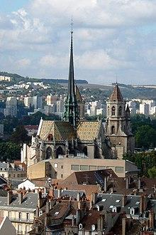 Dijon, vue panoramique