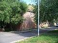 Vyšehrad, jižní roh hradeb.jpg