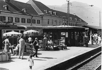 Wörgl - Image: Wörgl Gare 1965