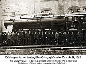 Maschinenfabrik Esslingen - The mighty Württemberg K was one of the most successful locomotives designed and built in Esslingen