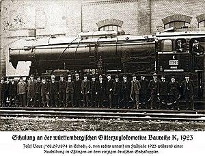 Maschinenfabrik Esslingen - The mighty Württemberg K was one of the most successful locomotives designed and built in Esslingen