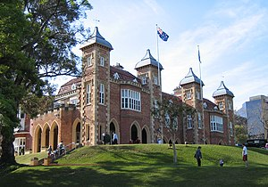 Governor of Western Australia - Government House, the residence of the Governor of Western Australia.