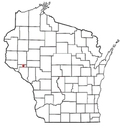 Location of Lima, Pepin County, Wisconsin