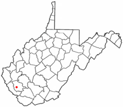 Location of Switzer, West Virginia