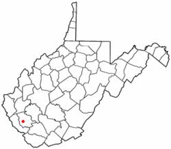 Location of Switzer, West Virginia