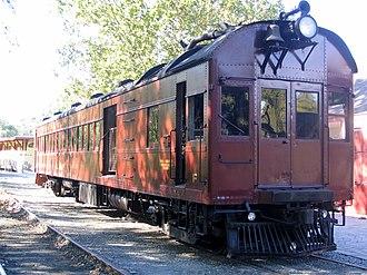 Wilmington and Western Railroad - Image: WW Doodlebug 1
