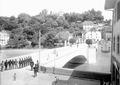 Wachtübernahme auf der Rheinbrücke von Laufenburg - CH-BAR - 3240534.tif