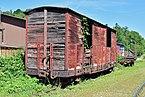 Waldneukirchen - Steyrtalbahn - abgestellter Waggon - 2.jpg