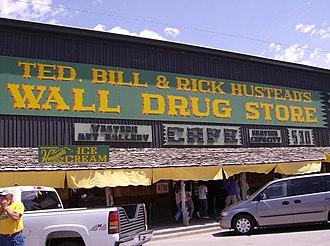 Wall, South Dakota - Wall Drug Store