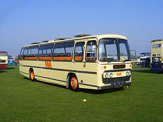 Wallace Arnold - Preserved Plaxton bodied Leyland Leopard in September 2008