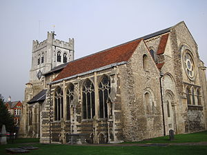 Waltham Abbey Church - Image: Waltham Abbey