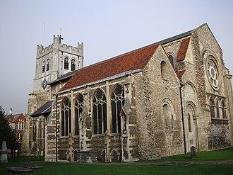Waltham Abbey Church - Image: Waltham Abbey