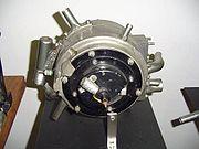 Wankel Engine NSU KKM 57P (Kreiskolbenmotor), at Autovision und Forum, Germany
