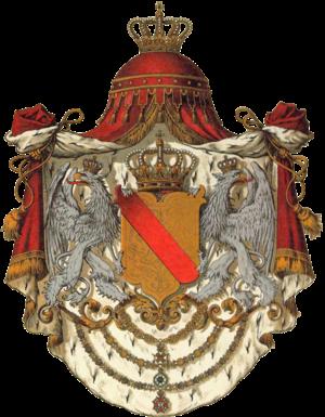 Coat of arms of Baden - Image: Wappen Deutsches Reich Grossherzogtum Baden