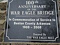 War Eagle Mills Bridge 100th Anniversary Plague.jpg