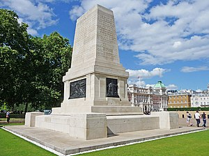 Guards Memorial - Image: War Memorial, Horseguards, London SW1 geograph.org.uk 1409101