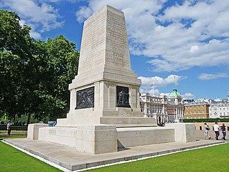 Guards Memorial - Image: War Memorial, Horseguards, London SW1 geograph.org.uk 1409101