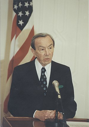 Warren M. Christopher, 63rd Secretary of State.