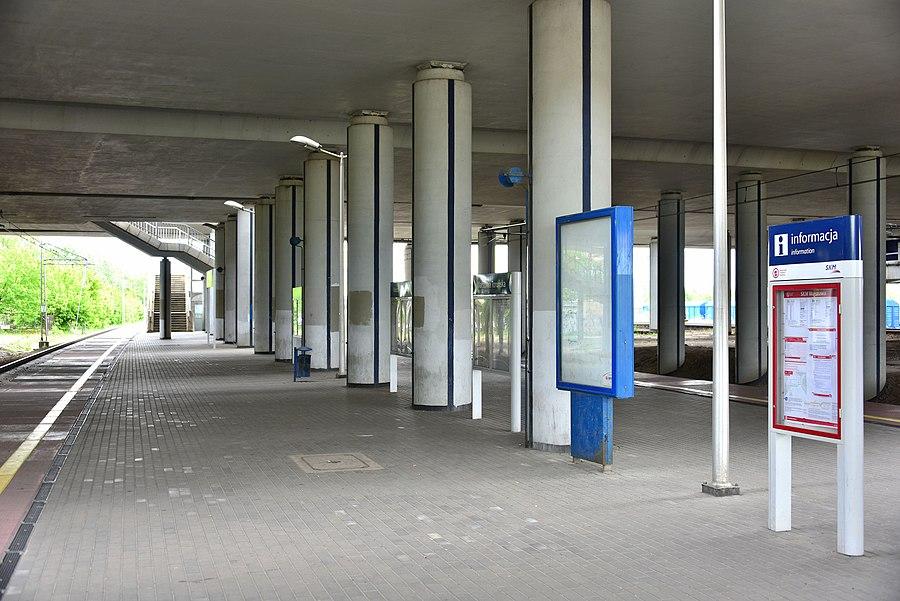 Warszawa Toruńska railway station