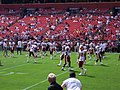Washington Redskins warmup 2005.jpg