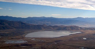 Washoe Valley (Nevada) - Washoe Lake in Washoe Valley