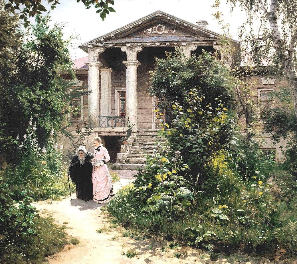 Le Jardin De Grand Mere vasilij dmitrievič polenov - crotos