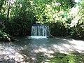 Waterfall under bridleway bridge - geograph.org.uk - 1377818.jpg