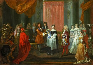French Dauphin presented with an order