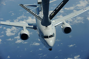 Boeing 737 AEW&C - RAAF Wedgetail aerial refueling during Exercise RIMPAC 2012