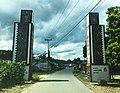 Welcome gate to Lumban Silintong, Balige, Toba Samosir.jpg