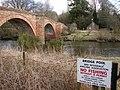 Welcome to Bridge Pool - geograph.org.uk - 728115.jpg
