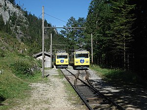 Wendelstein Rack Railway - Image: Wendelsteinbahn aipl