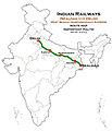 West Bengal Samparkkranti Express (DLI - SDAH) Route map.jpg