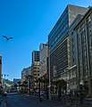 West side of Strand Street, Cape Town, from Cape Sun hotel.jpg
