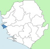Western Area Rural District Sierra Leone locator.png