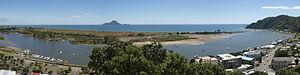 Whakatane - Whakatāne panorama